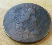 1794 U.S. LARGE CENT SOME DAMAGE