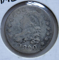 1820 CAPPED BUST DIME-SMALL