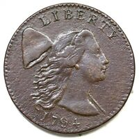 1794 S-28 R-2 LIBERTY CAP LARGE CENT COIN 1C