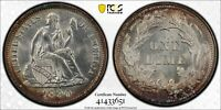 1890 SEATED LIBERTY DIME. PCGS MS 63. VARIETY FOUR LEGEND ON