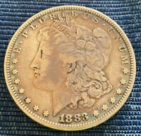 1883 MORGAN SILVER DOLLAR - BEAUTIFUL TONE