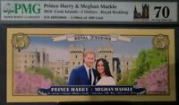 /LOW SER.   COOK ISLANDS $5 REAL GOLD ROYAL WEDDING 70 GRADE PERFECT
