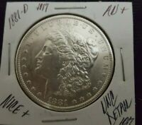 1881 -O MORGAN SILVER DOLLAR