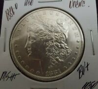 1881-O $1 MORGAN SILVER DOLLAR