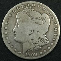 1903 S MORGAN SILVER DOLLAR - CLEANED