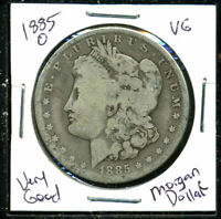 1885 O VG MORGAN DOLLAR 90SILVER  GOOD U.S.A COMBINE SHIPPING$1 COIN C1132