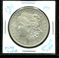 1921 P BU MORGAN DOLLAR UNCIRCULATED SILVER MINT STATE COMBINE SHIP$1 COINC3125