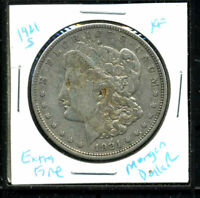 1921 S EXTRA FINE  MORGAN DOLLAR 90 SILVER EXTRA FINE U.S.A COMBINE SHIP$1 COIN WC3119