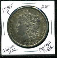 1885 P AU MORGAN DOLLAR 90 SILVER COIN ABOUT UNCIRCULATED COMBINE SHIP$1 C1625