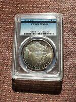 1878-CC $1 MINT STATE 64   PCGS MORGAN SILVER DOLLAR   $850 @PCGS PRICE GUIDE
