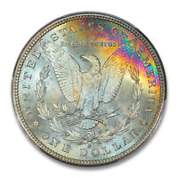 1881-S $1 MORGAN DOLLAR PCGS MINT STATE 67 CAC REV COLOR 1755-1