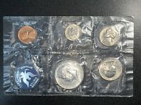 1965 US UNCIRCULATED SEALED FIVE COIN SPECIAL MINT SETFLAT PACK NO ENVELOPE