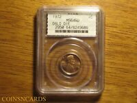 1972/72 LINCOLN CENT DOUBLED DIE DDO 1 ERROR UNCIRCULATED PC