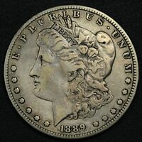 1889 CC CARSON CITY MORGAN SILVER DOLLAR - CLEANED