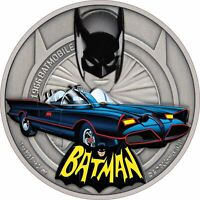 NIUE   2021   1 OZ SILVER PROOF COIN   1966 BATMOBILE
