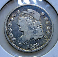 1835 CAPPED BUST HALF DIME-SMALL DATE, SMALL 5C-R GRADE