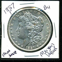 1887 P BU MORGAN DOLLAR UNCIRCULATED SILVER MINT STATE COMBINE SHIP$1 COINC1517