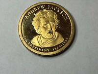 2008 S ANDREW JACKSON PRESIDENT DOLLAR PROOF CIRCULATED