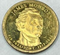 2008 S JAMES MONROE PRESIDENTIAL DOLLAR PROOF CIRCULATED