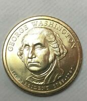 2007 P GEORGE WASHINGTON PRESIDENTIAL DOLLAR CIRCULATED COIN