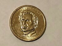 2010 D FRANKLIN PIERCE PRESIDENTIAL DOLLAR COIN CIRCULATED