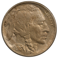 1913-D TY1 BUFFALO NICKEL -  ALMOST UNCIRCULATED CONDITION, FIRST YEAR ISSUE
