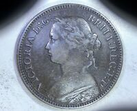 GREAT BRITAIN: 1875 H 1 FARTHING > LITTLE DARLING OF A VICTO