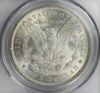 1889 P MORGAN SILVER DOLLAR PCGS MINT STATE 64 AND CAC TOP 100 VAM 22 LATE DIE STATE