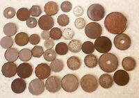 ANTIQUE  MIDDLE EAST COINS PALESTINE  EGYPT  IRAQ  MOROCCO 2