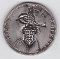 BRITISH INDIA 1892 SILVER COINS  BRITISH INFLUENCE COUNTER S