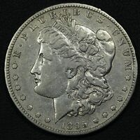 1895 S MORGAN SILVER DOLLAR - CLEANED