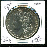1885 P BU MORGAN DOLLAR UNCIRCULATED SILVER MINT STATE COMBINE SHIP$1 COIN 4992
