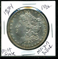 1884 P BU MORGAN DOLLAR UNCIRCULATED SILVER MINT STATE COMBINE SHIP$1 COIN 3580