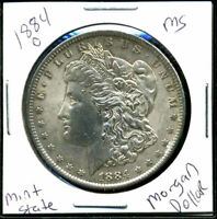 1884 O BU MORGAN DOLLAR UNCIRCULATED SILVER MINT STATE COMBINE SHIP$1 COIN3150