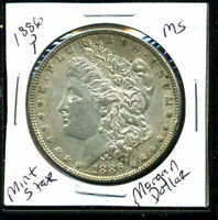 1886 P BU MORGAN DOLLAR UNCIRCULATED SILVER MINT STATE COMBINE SHIP $1 COIN 401