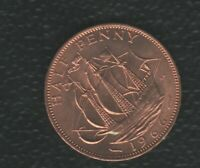 GREAT BRITAIN HALF PENNY 1966