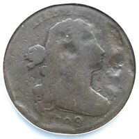 1799/8 NC-1 NCS G DETAILS DRAPED BUST LARGE CENT COIN 1C