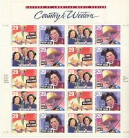 SCOTT 2771 74  COUNTRY  AND  WESTERN  29 CENT              S
