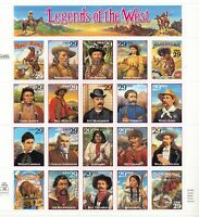 SCOTT 2869  LEGENDS  OF  THE  WEST  29 CENT               SO