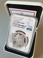 PF70 UNA AND THE LION 2021 ST. HELENA SILVER PROOF 1 FIRST R