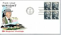 1280 ARCHITECT FRANK LLOYD WRIGHT STAMP FIRST DAY OF ISSUE F