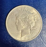 1923 SILVER PEACE DOLLAR - EXCELLENT CONDITION