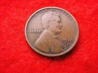 1910-S LINCOLN CENT  CENT   22