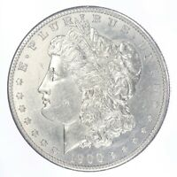 1900-S MORGAN SILVER DOLLAR AU ABOUT UNCIRCULATED  JO/939