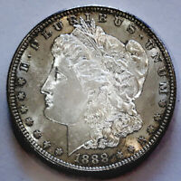 1888 S MORGAN  EXQUISITE EXAMPLE  KING RARITY$$ ULTRA PROOF
