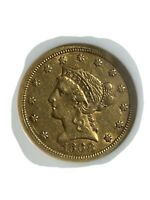 1882 S GOLD $5 LIBERTY HEAD COIN / NGC MS62