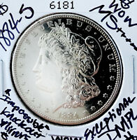 1884 S MORGAN DOLLAR WOW MS    EXCEPTIONAL DMPL  KNOCKOUT MI