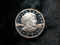 OLD PROOF COIN USA $1 SBA SUSAN B. ANTHONY DOLLAR 1979S  273