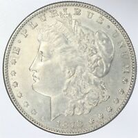1878-S MORGAN SILVER DOLLAR AU ABOUT UNCIRCULATED JO/1044