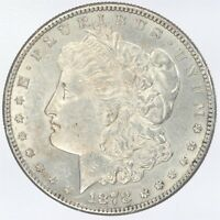 1878-S MORGAN SILVER DOLLAR AU ABOUT UNCIRCULATED JO/1051